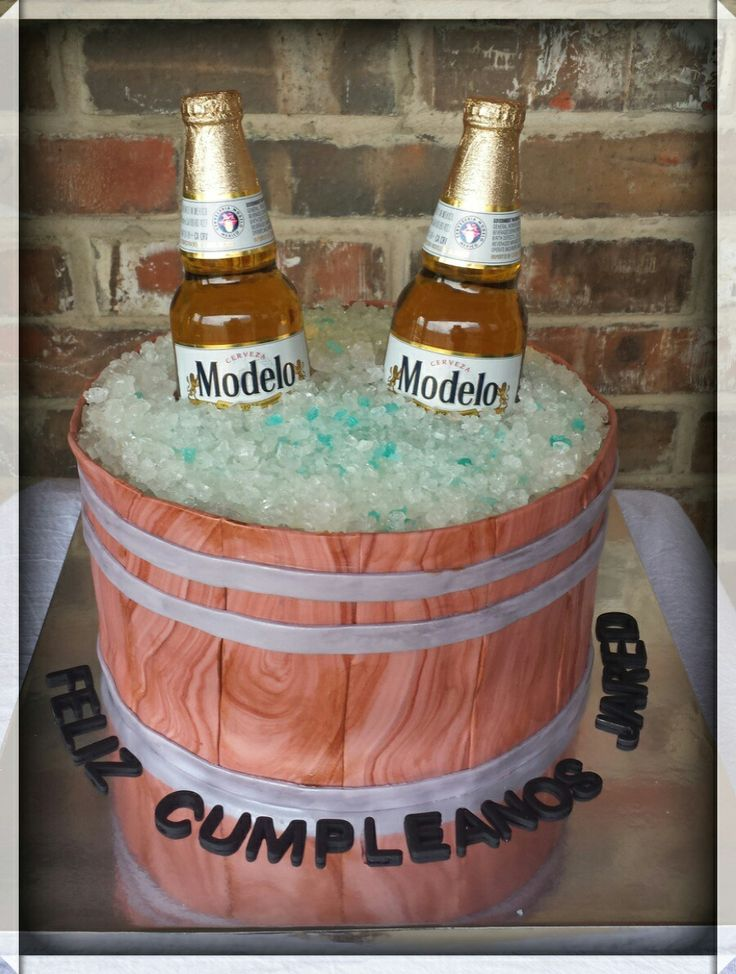 1000 Ideas About Beer Birthday Cakes On Pinterest Man