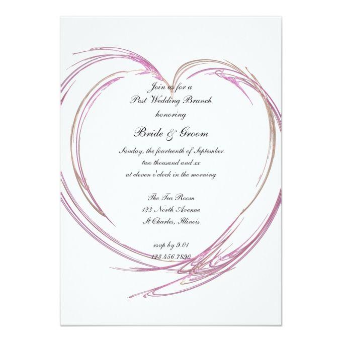 1664 besten Pink Wedding Invitations Bilder auf Pinterest