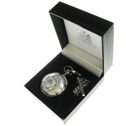 MUST GET THIS FOR AIDAN!!!!!!!!!!!!!!!!!!!!!!!!!!!!!!!   Boys Christening Gift, Engraved St Christopher Pocket Watch in a Quality Presentation Box, Boy Christening Gift, Christening Gift Ideas by The Great Gifts Company, http://www.amazon.co.uk/dp/B00BVJAOEG/ref=cm_sw_r_pi_dp_gTUxrb07ZM1DR