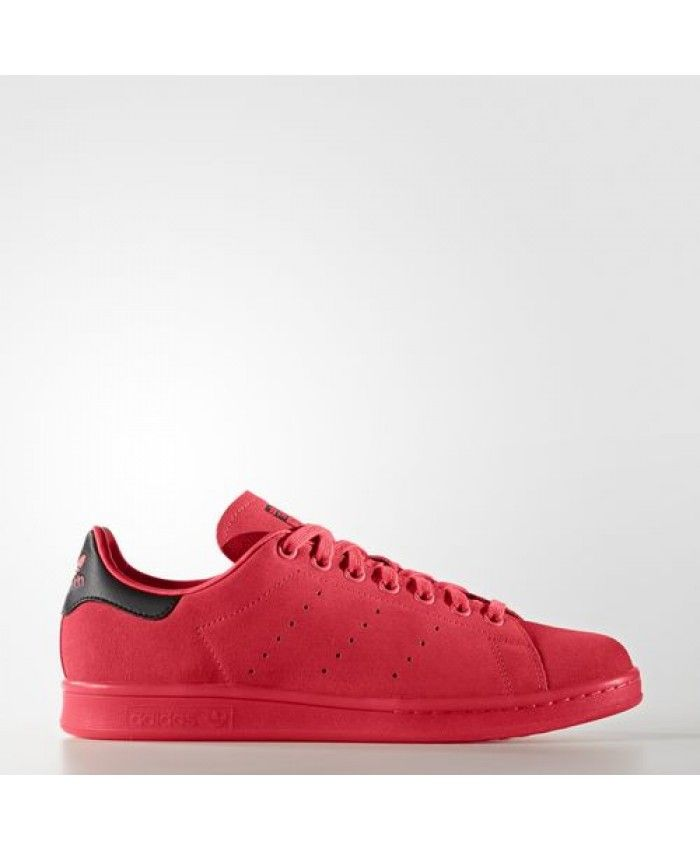 Womens Adidas Stan Smith Shock Red Shock Red Shock Red S80032