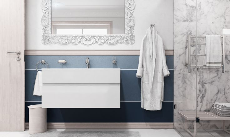 The bathroom is the one space we all use on a regular basis. In a family home, a bathroom needs a clever design in order to cater for so many needs. It should have ample storage space and a durable design that will withstand regular use and maybe even a little chaos.