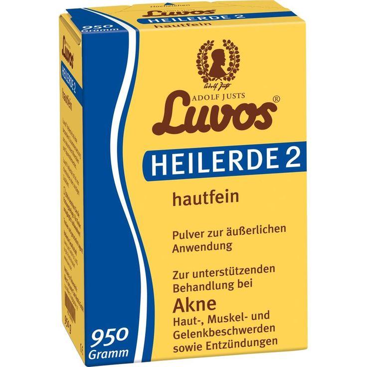 LUVOS Heilerde 2 hautfein:   Packungsinhalt: 950 g Pulver PZN: 05039225 Hersteller: Heilerde-Gesellschaft LUVOS JUST GmbH & Co. KG Preis:…