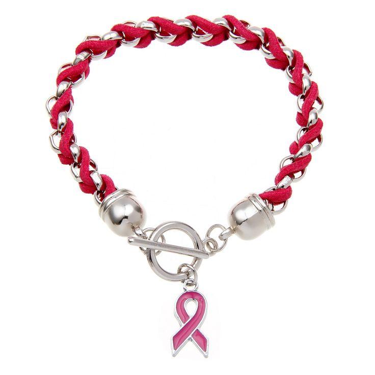 """Bracelet Femmes Original """"Prévention #SIDA """"en Alliage de zinc et Ruban rouge .  Collection 2016  Neuf sous blister.      Longueur: 20cm      Type de chaîne: Chaîne de corde      Type de fermoir: Homard"""