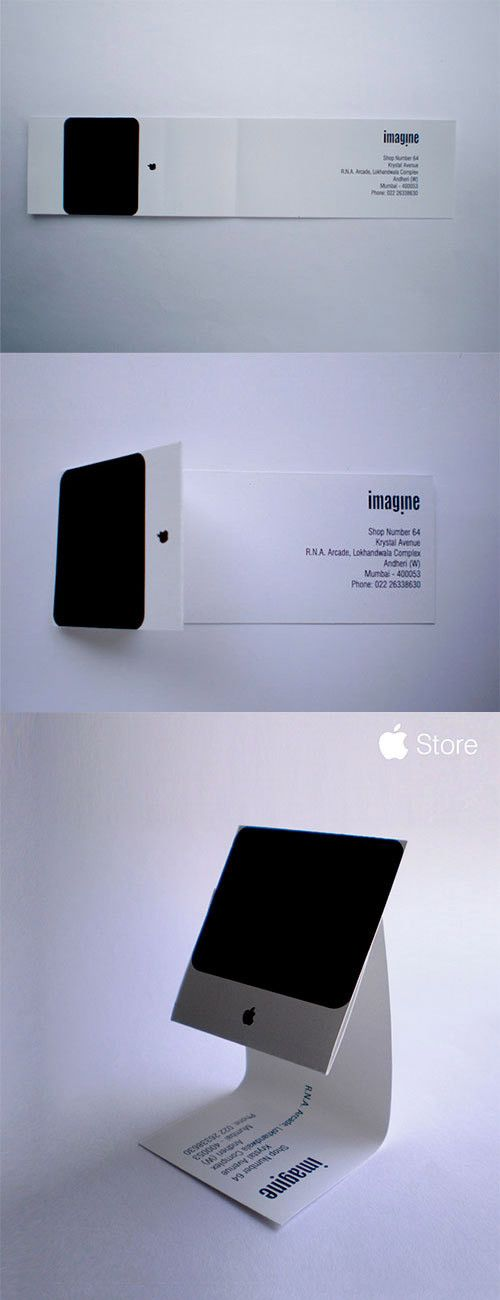 9 best tarjetas images on pinterest business cards business card imagine apple imac business card the importance of good business card design with examples reheart Choice Image