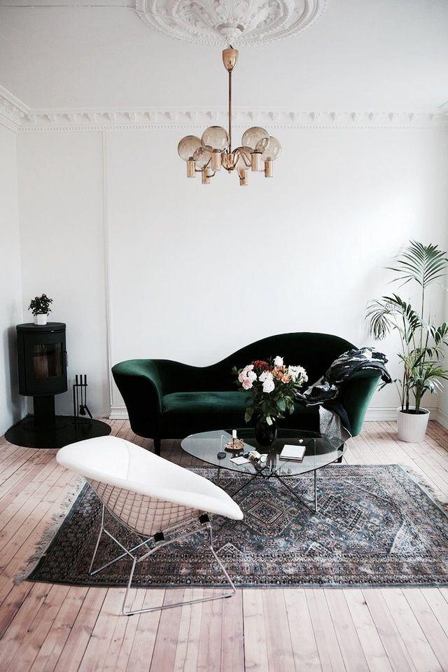That velvet sofa!