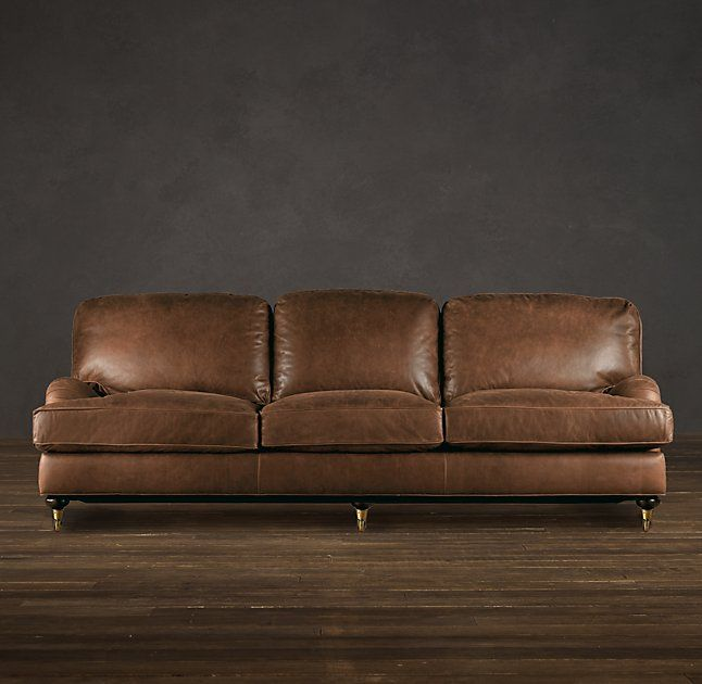 Jennifer Leather Sleeper sofa
