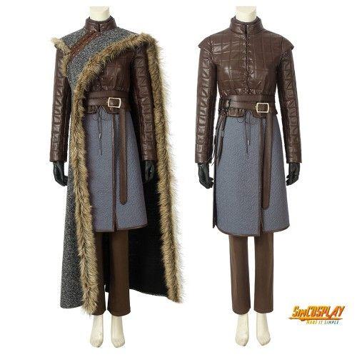 Exclusive Game of Thrones Arya Stark Handmade Cosplay Costume Halloween Costume