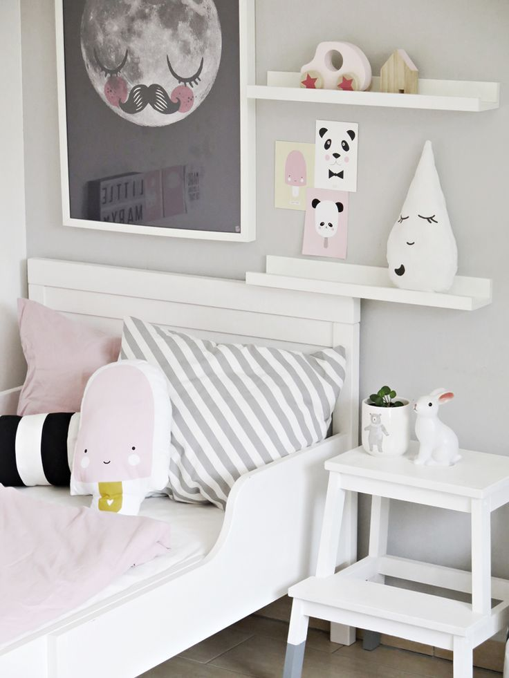 25 best ideas about white kids room on pinterest for Childrens bedroom wall designs