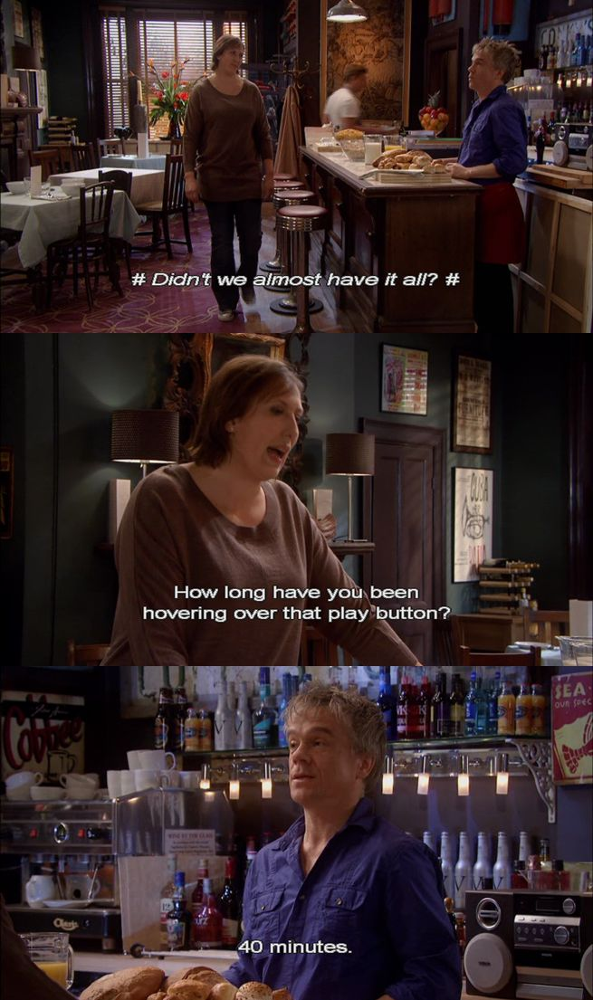 Didn't we almost have it all? - Miranda and Clive
