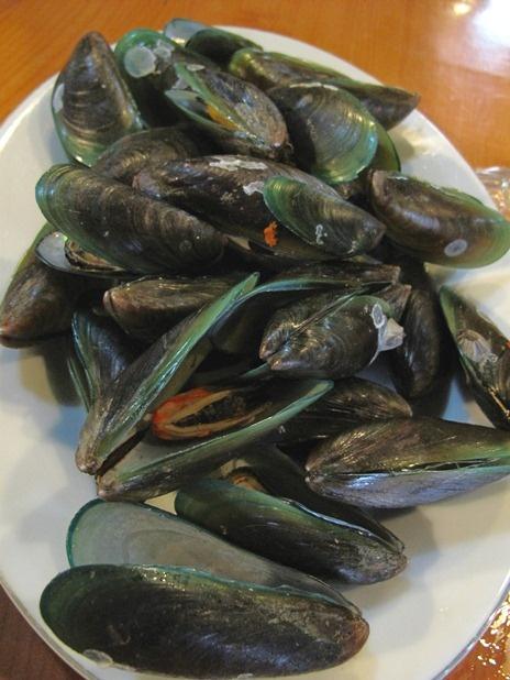Kerang Hijau (mussels).