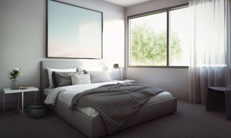 A bedroom to sleep in for hours and hours