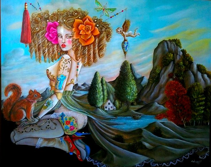 """Terra Incógnita"", 100x80, óleo sobre tabla"