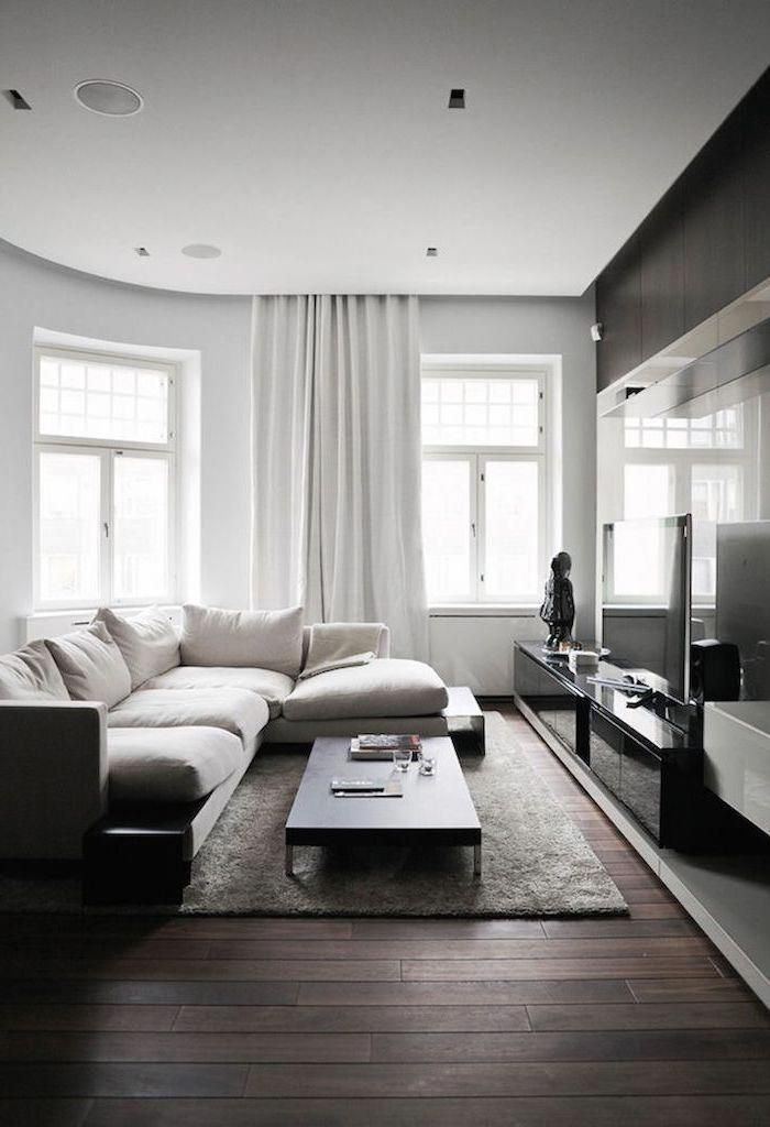White Corner Sofa How To Decorate A Small Living Room Small