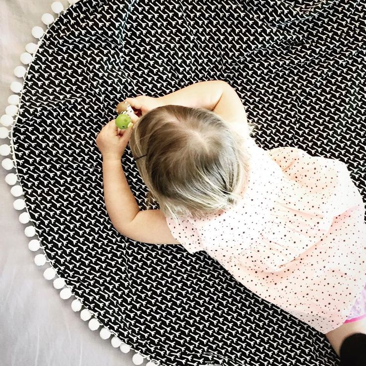 Our new Pom Pom Throws are very versatile. Doubling as a stylish play mat for our cute lil Willow