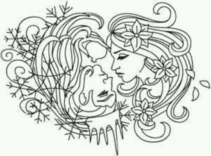 persephone coloring pages - photo #36