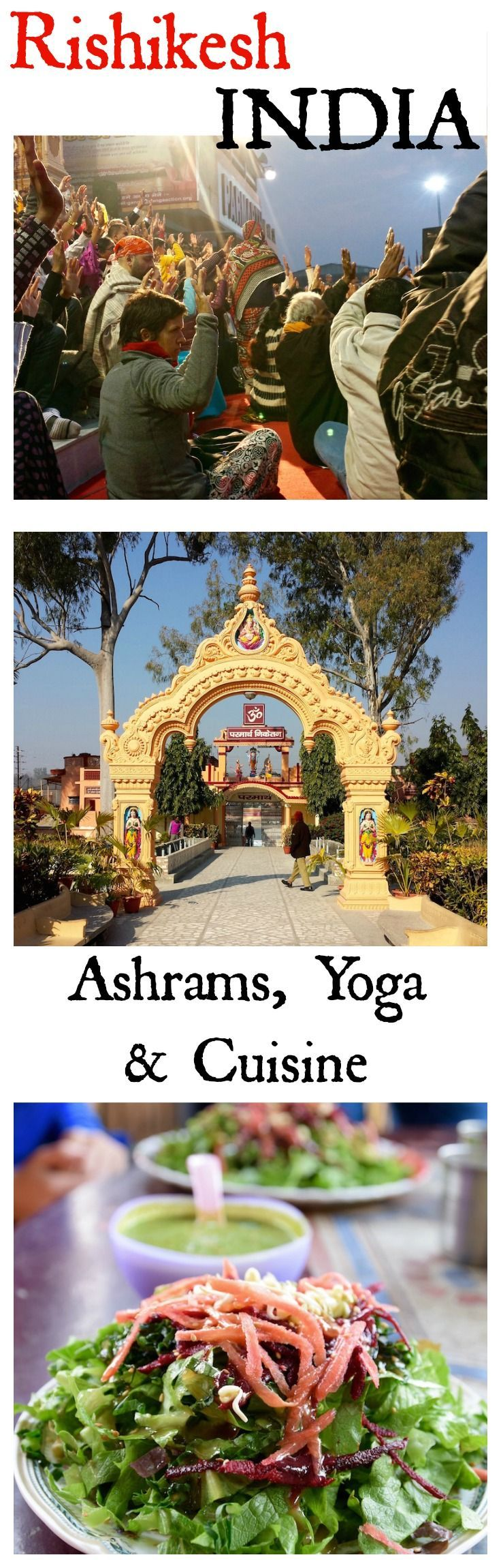 The ashrams, yoga and food of Rishikesh India | TastingPage.com