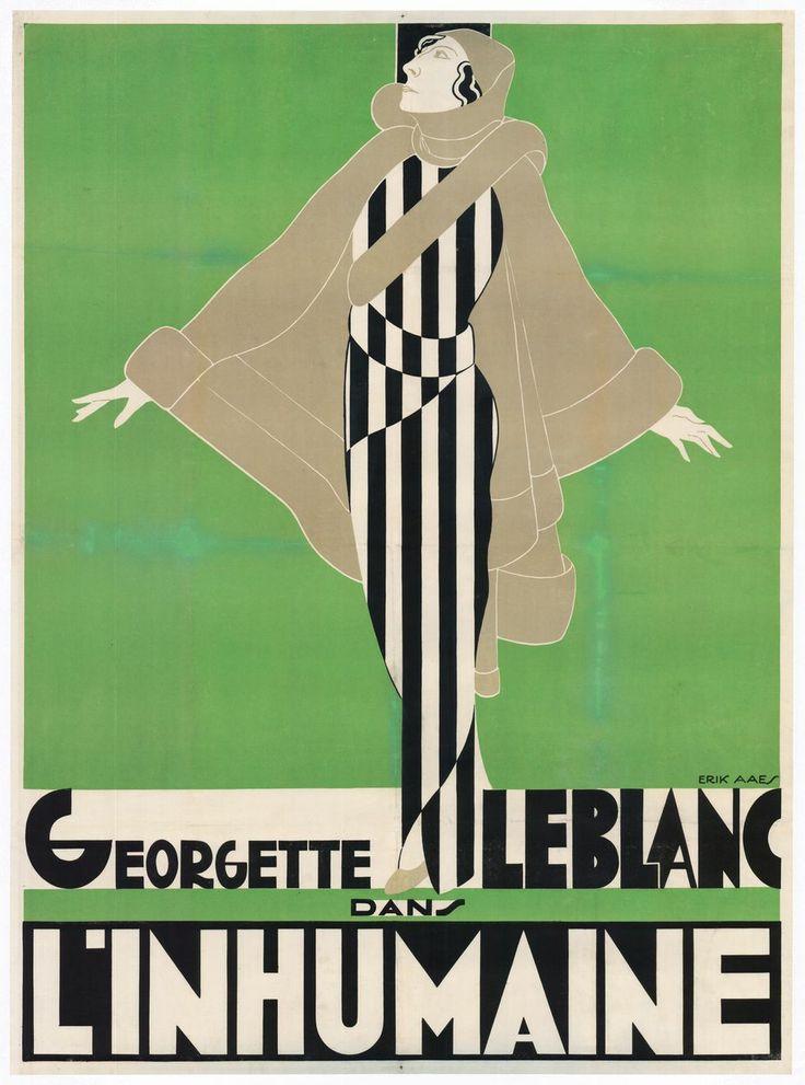 32 000 euros pour l'affiche de «L'inhumaine» de Marcel L'herbier (Libération)