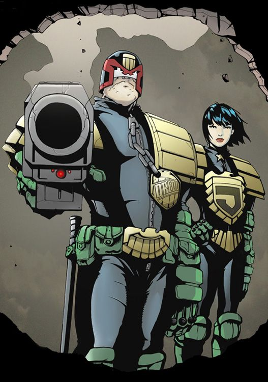 NECESITAMOS una serie de animación de Juez Dredd. ¿Me oye, señor Bruce Timm?