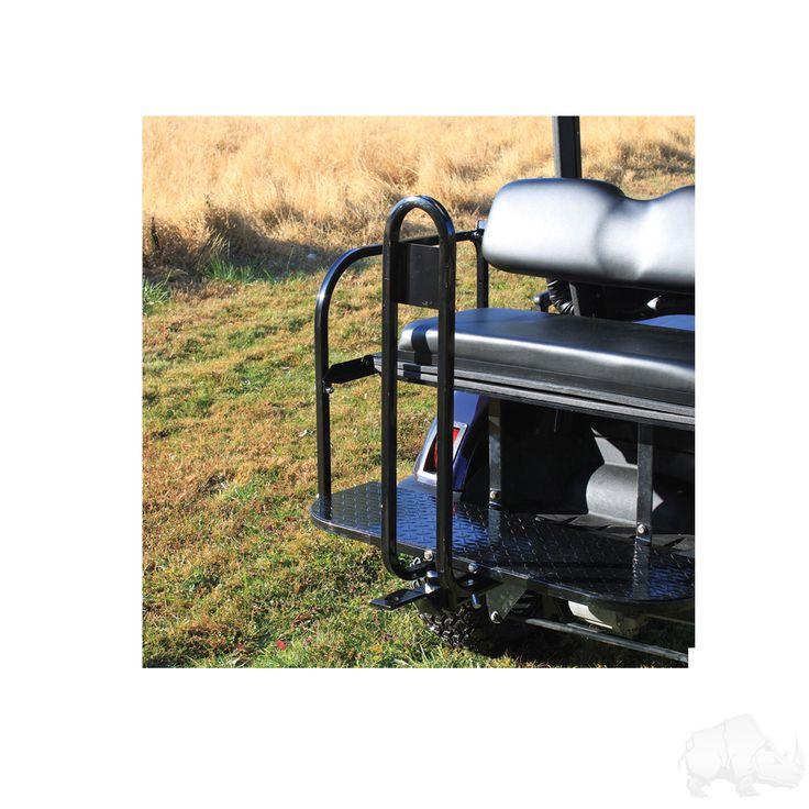 Bumper Hitch/Safety Bar Rear Seat Kit