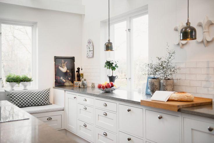 Lantligt kök till villa - Lidhults