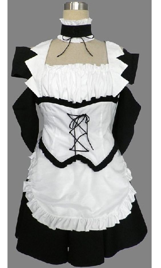 Onecos Kaichou Wa Maid-sama Ayuzawa Misaki Maid Cosplay Costume ** You can find more details by visiting the image link.