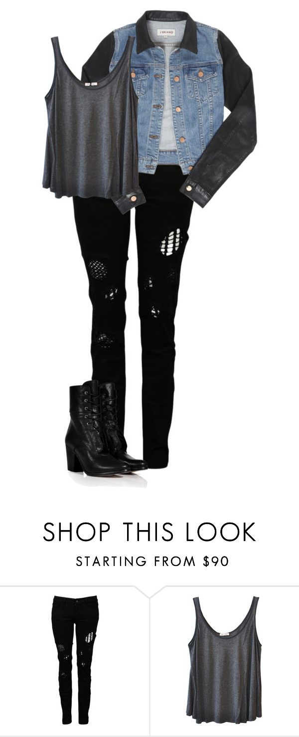 """""""Untitled #356"""" by awesomepandadude ❤ liked on Polyvore featuring Religion Clothing, J Brand, American Vintage and rag & bone"""