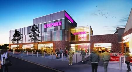 Cinema next part of Catterick Garrison town centre complex to open