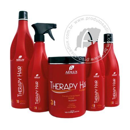 """""""Tratamento Capilar Therapy Hair Adlux O kit de tratamento da linha Therapy Hair faz um S.O.S nos cabelos.  Uma linha seleta e avançada para o tratamento capilar. A sinergia dos ativos, permite ao profissional, um resultado surpreendente no tratamento capilar com eficácia e resultado."""" #reconstruçãocapilar #shampoos #hair #hairstyle #mascaracapilar"""