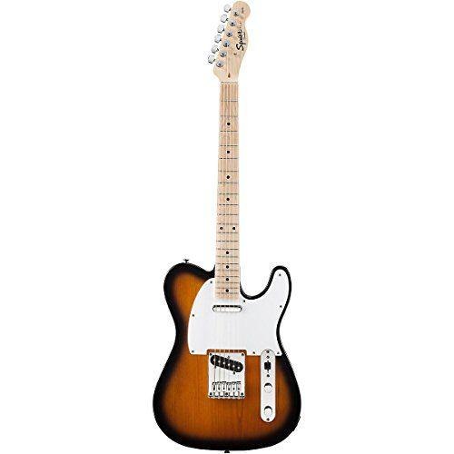 Fender Squier® Affinity Telecaster® Electric Guitar, 2 Tone Sunburst  http://www.instrumentssale.com/fender-squier-affinity-telecaster-electric-guitar-2-tone-sunburst-2/