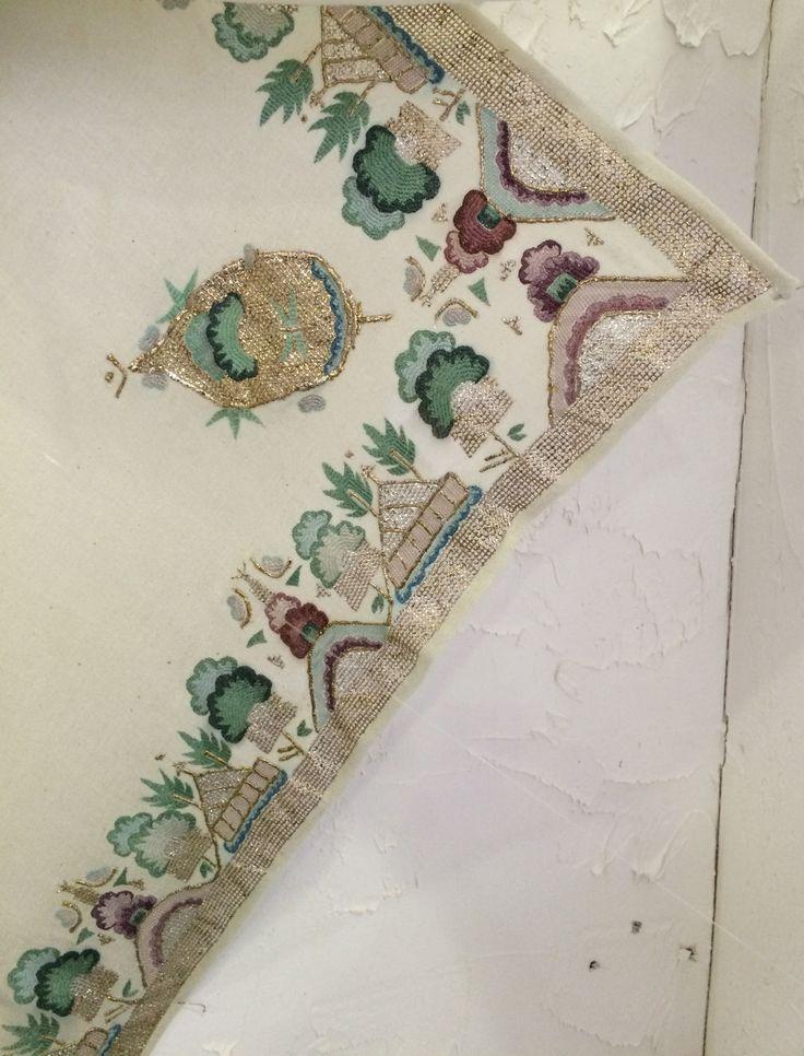 Turkish embroidery.