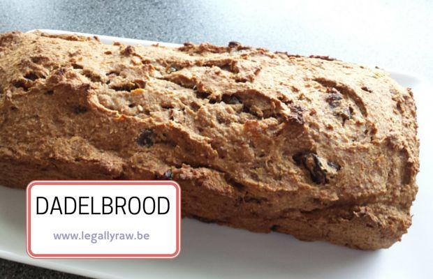 Als je iets lekkers wilt maken, dan is dit dadelbrood een tip voor jou. http://legallyraw.be/dadelbrood/