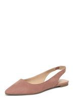 Womens Pink 'Prinny' Slingback Shoes- Pink