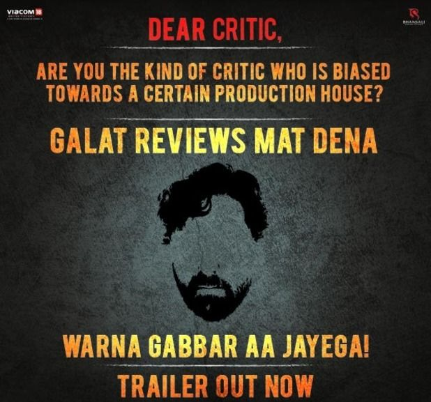 gabbar is back reviews