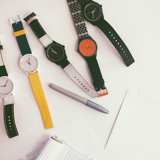 A different watch for every day of the work week.