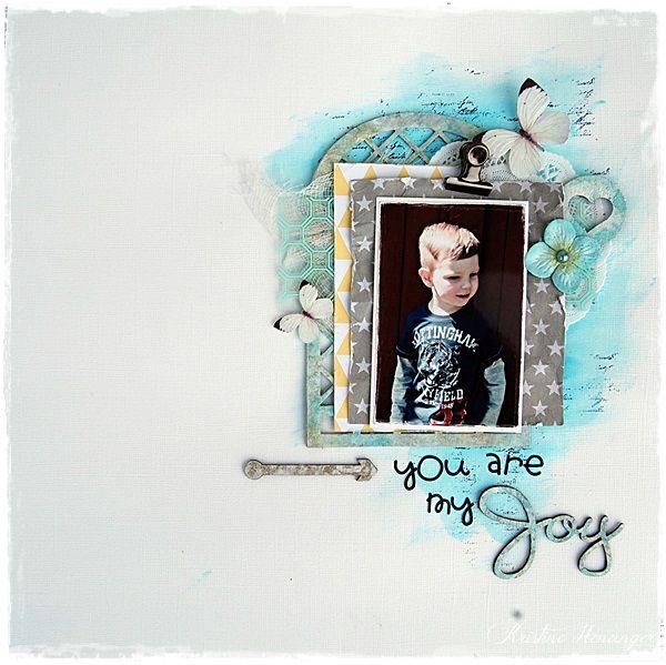 DT Blue Fern Studios - YOU ARE MY JOY - BY KRISTINE HENANGER