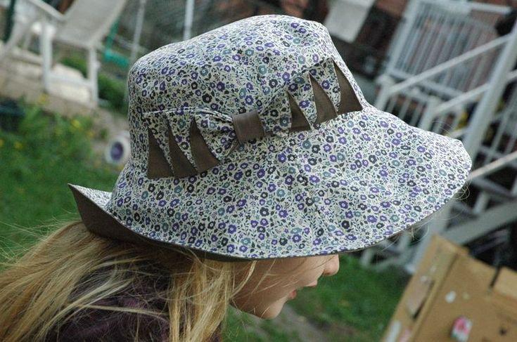 patron de chapeau pour fille