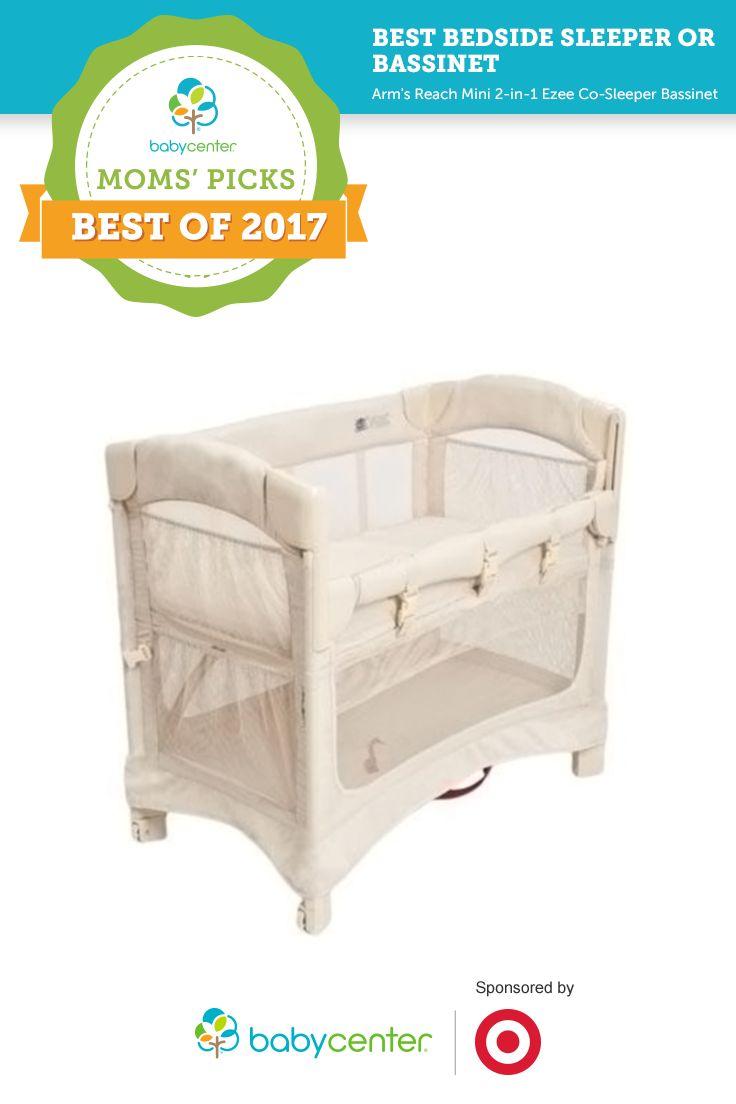Best bedside sleeper or bassinet in BabyCenter's 2017 Moms' Picks Awards sponsored by Target