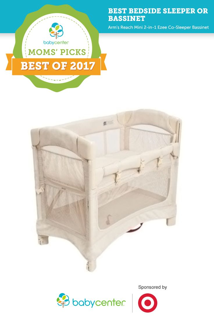 Baby bed vs bassinet - Best Bedside Sleeper Or Bassinet In Babycenter S 2017 Moms Picks Awards Sponsored