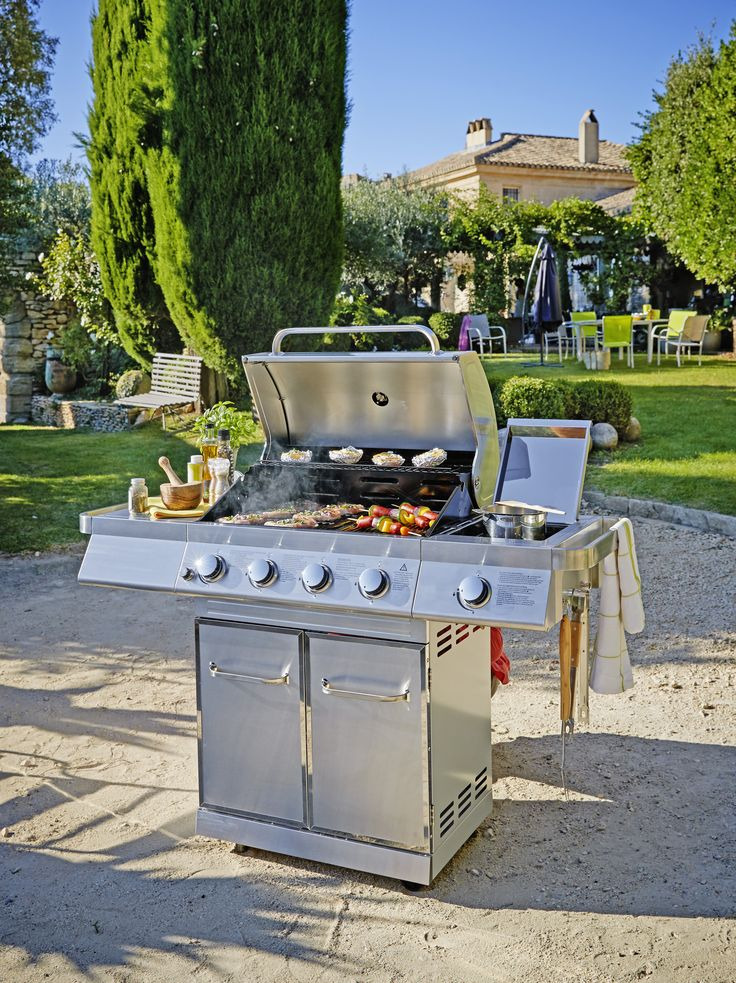barbecue gaz houston carrefour