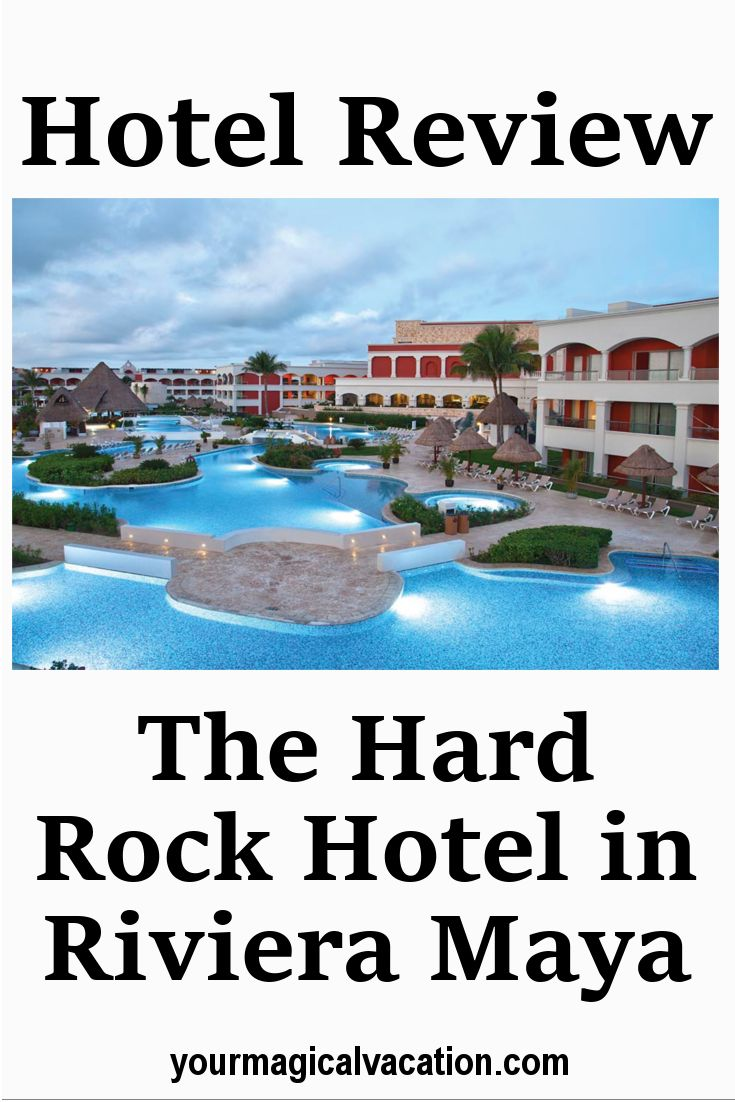 Hard Rock Hotel – Riviera Maya, The Hard Rock Hotel in RivieraMaya is a 1,264- room all inclusive resort where paradise comes to play.