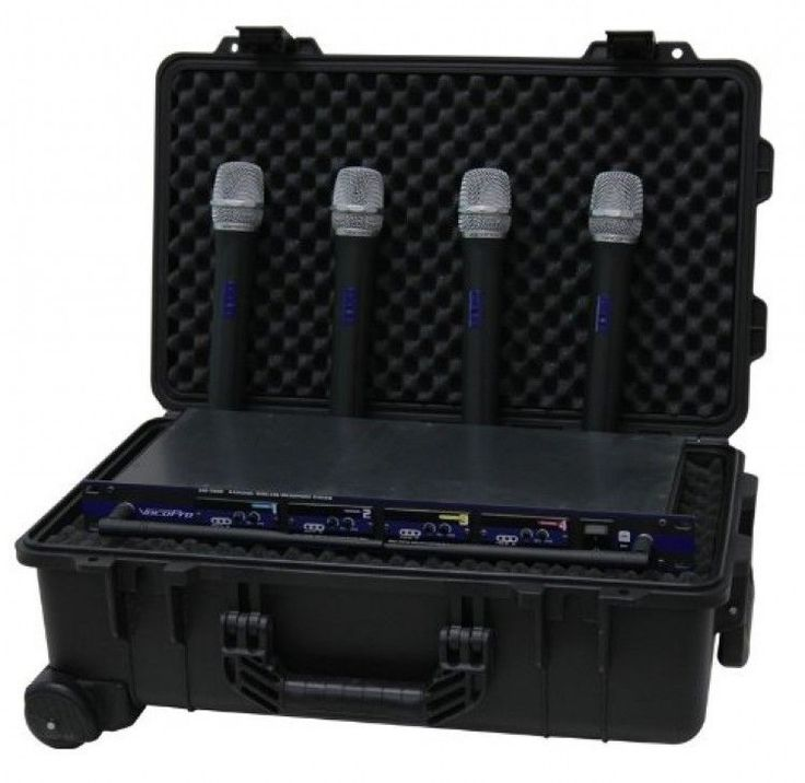 Universal Hard Case Wheeled DJ Medical Equipment Storage Laptops Briefcase Large #TZCase