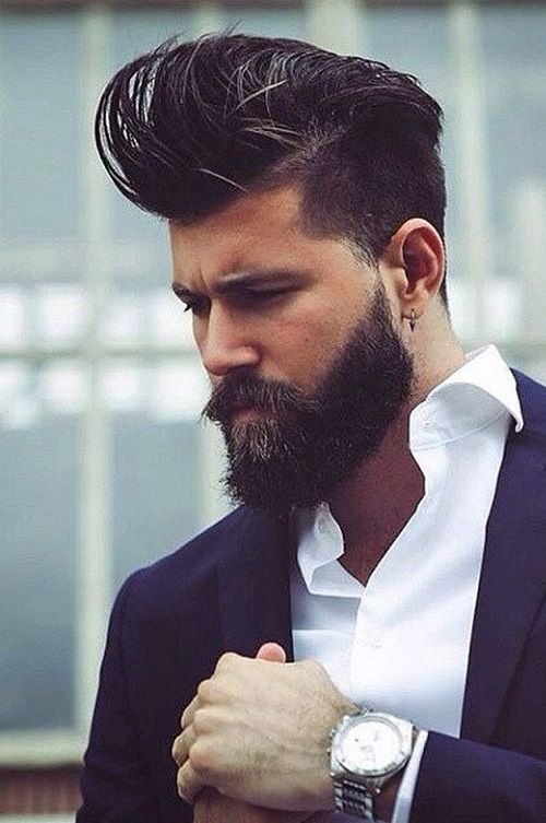 40 Mens Haircuts With Beard 2018