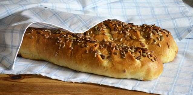 Chanterelle Bread by Scandinavian Bread