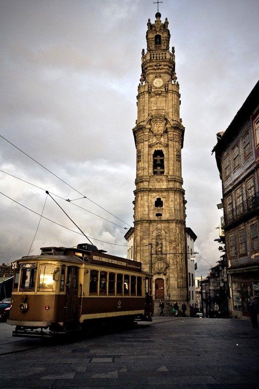 Torre dos clérigos, Oporto, Portugal  http://www.travelandtransitions.com/destinations/destination-advice/europe/