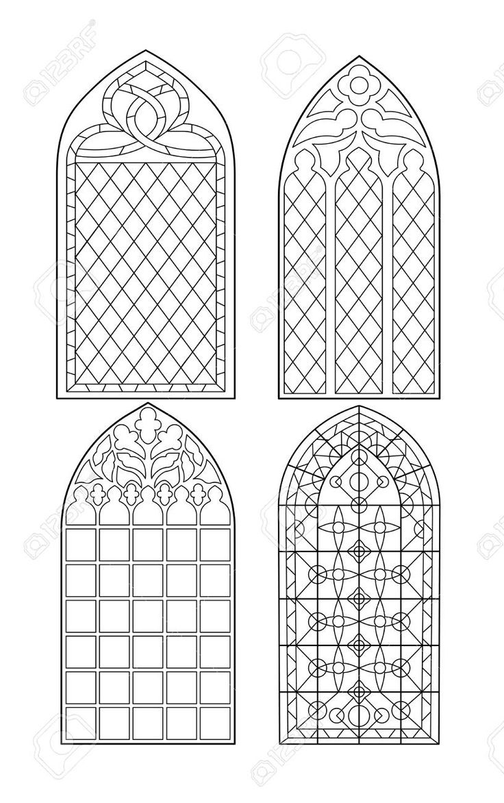 Stock Photo Kirchenfenster Kunststunden Und Kunstunterricht