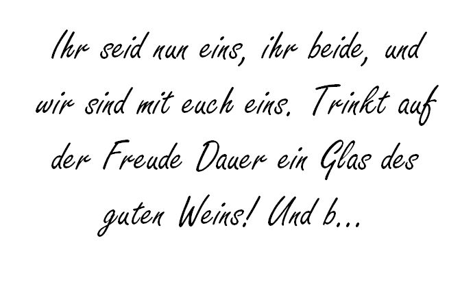 Ihr Seid Nun Eins Johann Wolfgang Von Goethe Hochzeitsfuchs Spruche Hochzeit Hochzeitsspruche Hochzeit