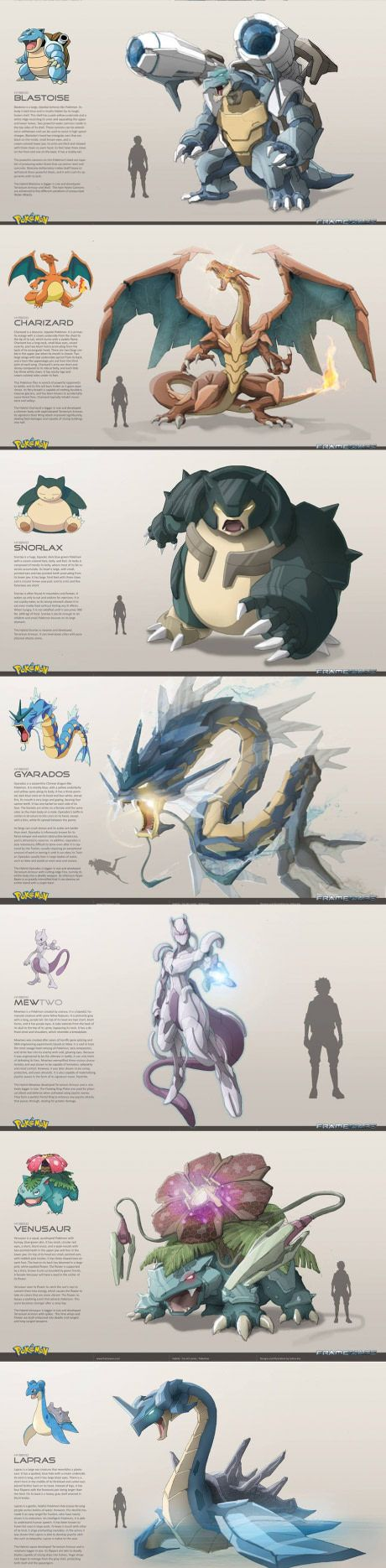 Mechanized Pokemon, so badass (By Frame Wars)