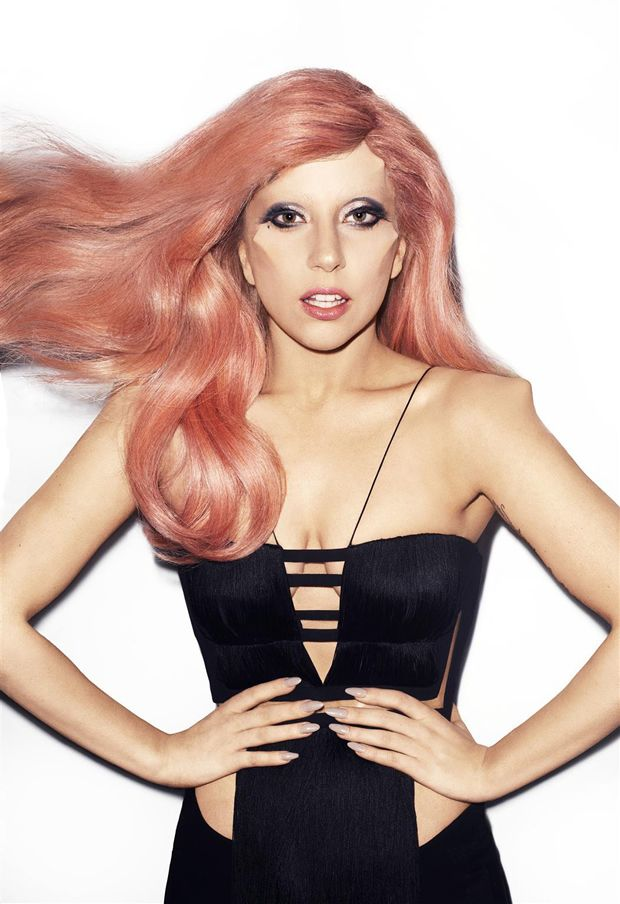 Lady Gaga X Alex Box for Harper's Bazaar. She's a keeper.