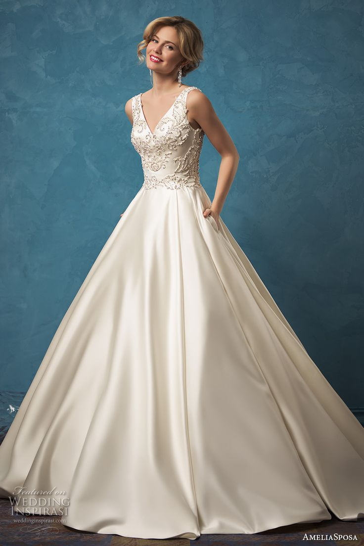 85 best Gowns with Pockets images on Pinterest | Wedding frocks ...