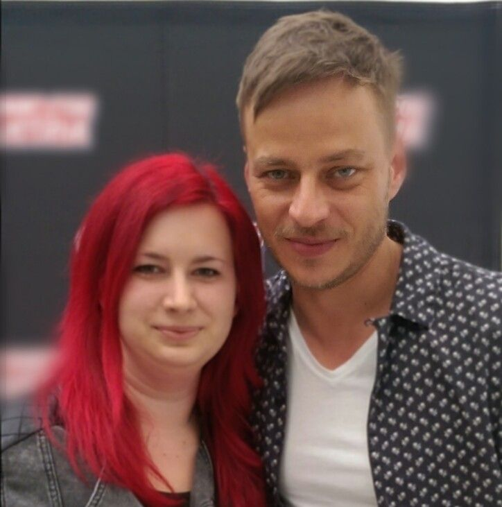 Tom Wlaschiha at the comic con Austria!! 1st photo Michaela Eifried FB 2nd photo Maria Tonko FB With many thanks to this lovely ladys for share the photos with my Fanpage :) From: https://www.facebook.com/tomwlaschihafanpage/
